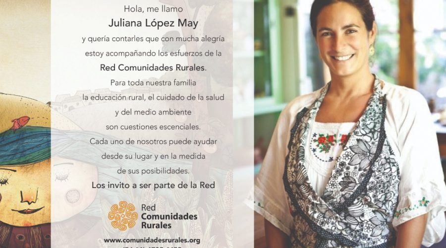 Juliana López May se suma a la Red ¿Y vos?