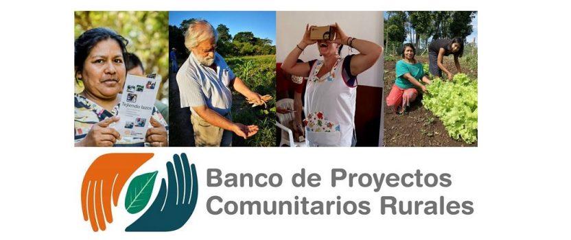 BANCO DE PROYECTOS COMUNITARIOS RURALES: LA RED ANTE UN NUEVO DESAFÍO